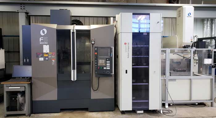 29th September 2020 – Sale of CNC Machining Equipment from Mold and Die Making Facility