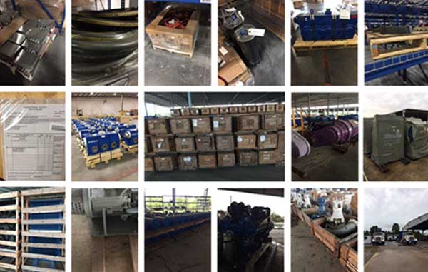 Available for Immediate Sale Fleet Service & Capital Spares and Fracking Materials