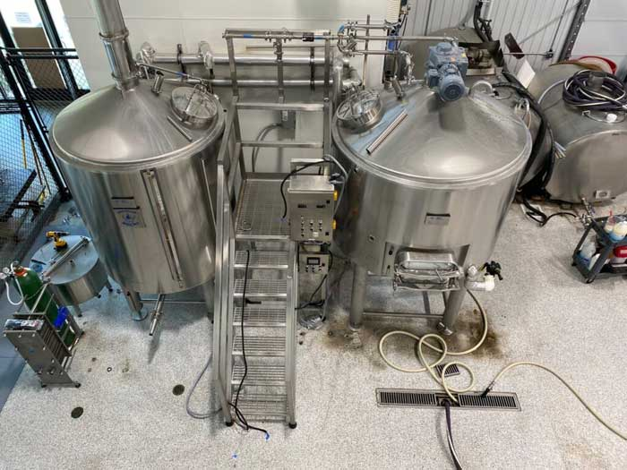 29th October 2020 – Auction of Microbrewery Equipment