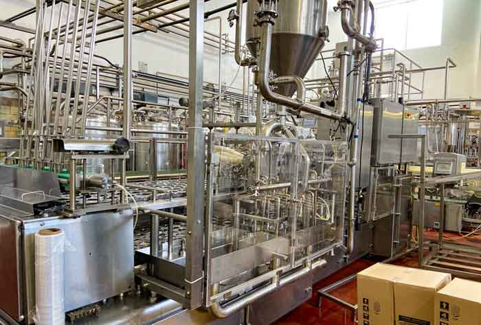 2nd - 4th December 2020 - Late Model Yogurt & Cheese Manufacturing Equipment Auction