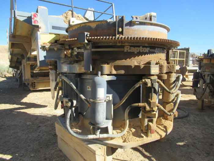 11th February 2021 – Semi Portable Crushing Plant for Auction
