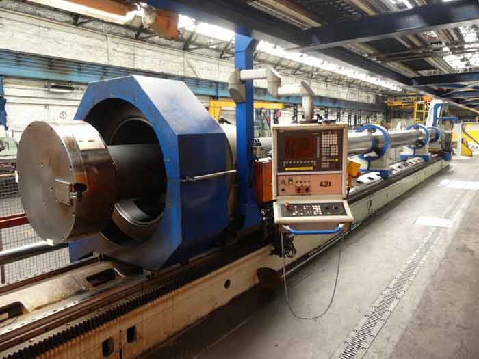 28th January 2021 – Plant Liquidation of Manufacturing Equipment for High-Pressure Tubes