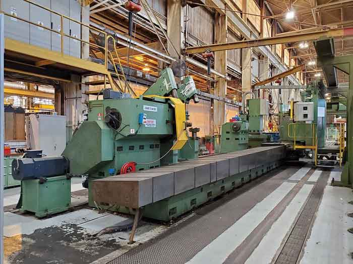 8th – 11th March 2021 – Auction of Lathes and Other Equipment from Turbine Manufacturer