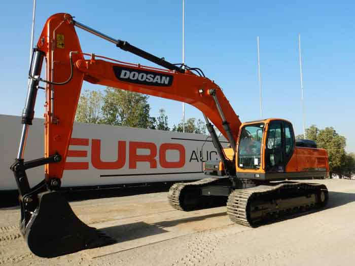 22nd March 2021 – Auction of Heavy Machinery from Euro Auctions Dubai Site