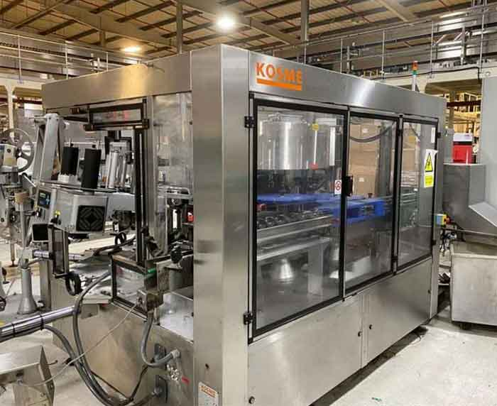11th August 2021 – Cosmetics Filling & Packaging Equipment Sale